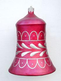 adornos campana navideña