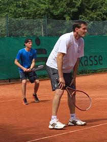 Erik und Malte im Doppel erfolgreich