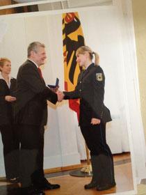 Verleihung durch J.Gauck