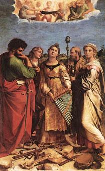 Estasi di S.Cecilia - Raffaello Sanzio
