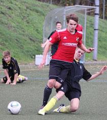 Lukas Seelhorst. Foul vor dem zweiten Elfmeter.