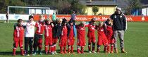 Die F-Junioren des VfB Germania Halberstadt
