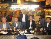 写真左より清水副会長,末利副会長,内村会長,大谷北陸本部長,私