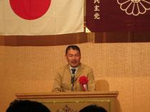 内閣官房参与の藤井聡教授の講演