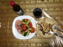 今夜の手料理