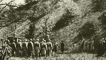 Exécution de Mata-Hari, photo du film de 1920 de Ludwig Wolff L'espionne Mata-Hari