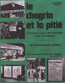 Affiche du Chagrin et la Pitié, un film pour rendre à la France la mémoire de ces années sombres