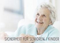 Sicherheit für Pensionierte Kinder