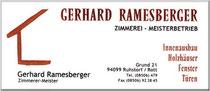 logo Zimmerei Rammesberger