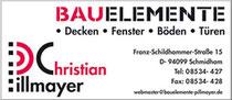 logo www.bauelemente-pillmayer.de