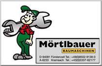 logo Mörtlbauer Baumaschinen