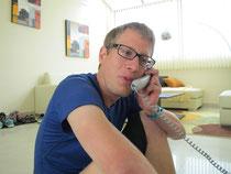 Simon im Radio