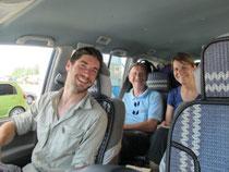 Unser Reisegrüppchen (Fahrer Muhammed und Codriver Simon fehlt)