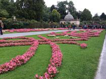 ミラベル宮殿のお庭