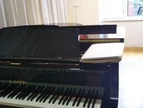 ピアノ屋さんの貸しスタジオで練習🎵