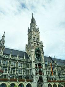 ミュンヘン、マリエン広場です。