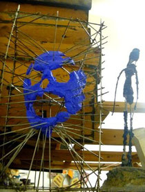 sculpture mortier cintres 50x50x50cm mars 2013