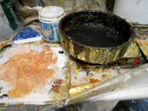 peinture et camembert