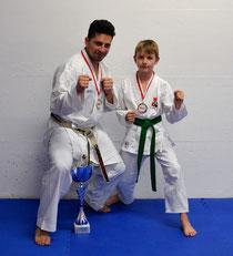 v.l. Marco Luca und Sean Mader