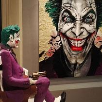 Joker (acrilico 120x120cm)