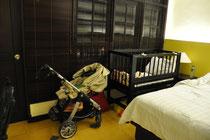 Hotel mit tollem Babybett, Bali