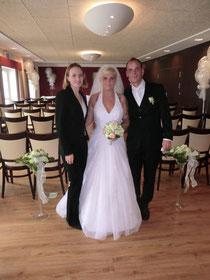 Agata und Christian mit Annika