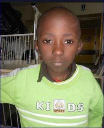 Makau war wegen seiner Leukemieerkrankung übe ein Jahr im Spital in Nairobi