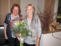 Ingeborg Härtl 2. Vorsitzende (l) Heiderose Günther 1. Vorsitzende (r)