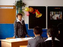Кабинет башкирского языка. Руководитель проекта Валиуллина Хабира Зайнулловна