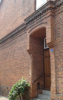 Eingang Flutstraße 1