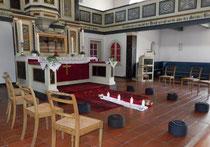 Meditation vorm Altar