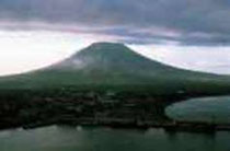 der Mayon Vulkan in Bicol