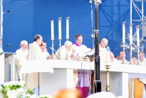 Eucharistiefeier mit Benedict XVI.