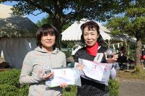 B級準優勝の横田・関根組
