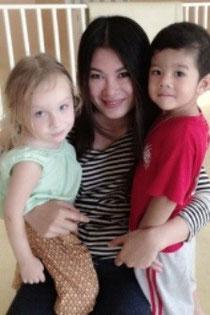 Au-Pair aus Thailand