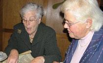 Phyllis Hofman Waldmann (links) und Elisabeth Quirbach (Foto: privat)