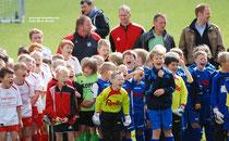 Vorfreude der F-Jugendlichen auf das Turnier um den famila-Cup