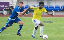 Djeman Diabate im Testspiel gegen den Regionalligisten SV Meppen
