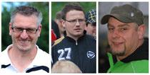 """Von links: Uwe Frieling, Henning Baumann, Holger """"Bussi"""" Buß"""