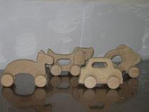 香翠寮の木工おもちゃ(中サイズ)600円