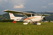 Cessna 172 in Thun
