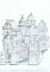 Paris Fantastique 2.014 création Hervé Arnoul. Avant projet