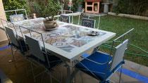 Tapa de mosaicos porcelanicos 15X15
