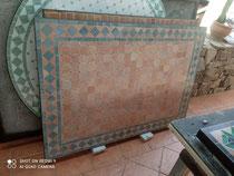 Tapa de mosaico marroquí 90 x 130