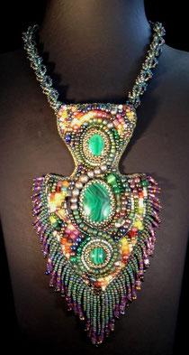 Halskette Maya