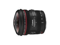 Canon EF 8-15mm f/4.0 L Fisheye USM (Foto: Canon)