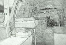 Caddy camper Car