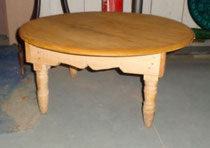 Chezmomo deco artisanat marocain meubles en bois table - Table basse salon marocain ...