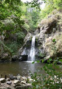 cascade, nature, rando