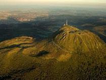 vulkaan Puy Dôme chaine des puys